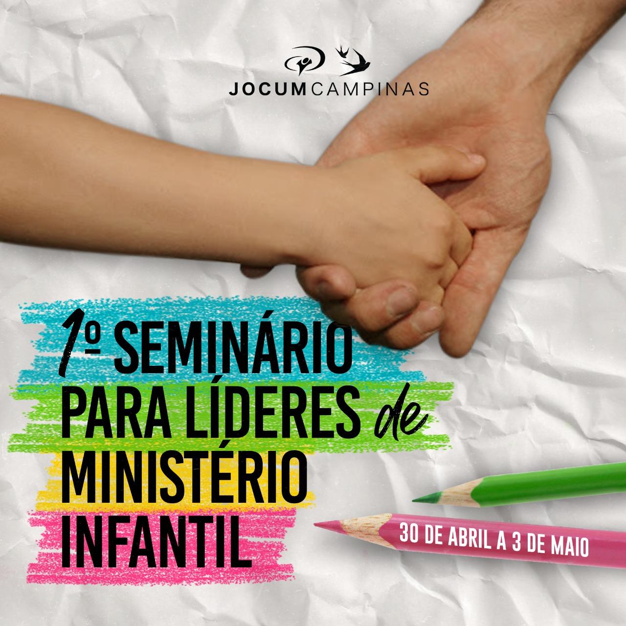 Seminário para líderes de ministério infantil